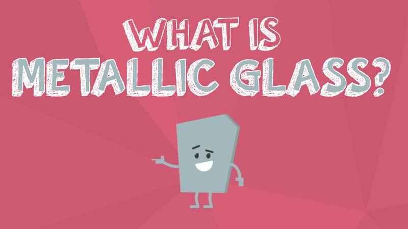 شیشهی فلزی چیست؟