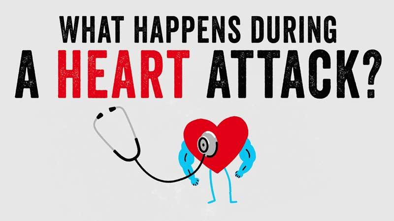 هنگام حملهی قلبی چه اتفاقی میافتد؟