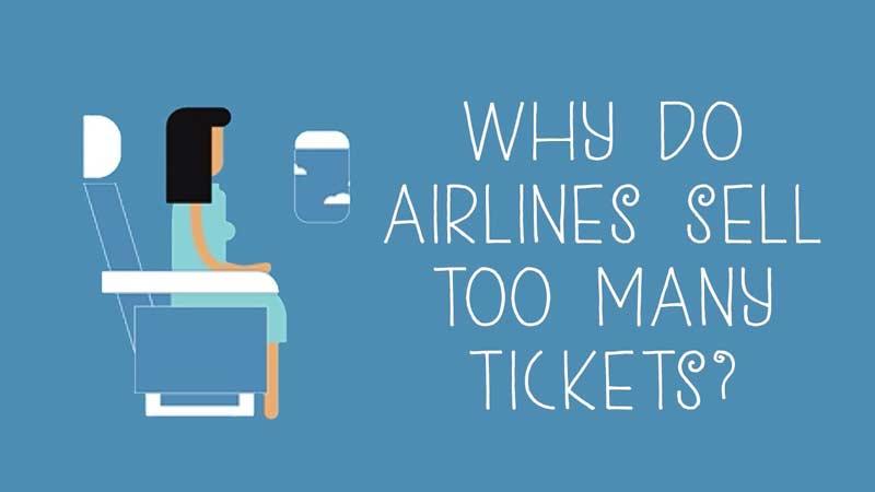 چرا شرکتهای هواپیمایی بلیط اضافی میفروشند؟