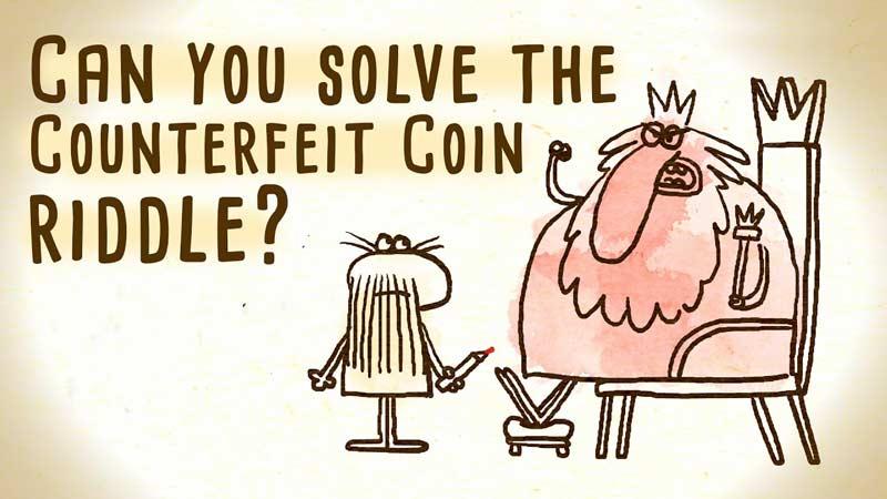 معمای سکهی تقلبی