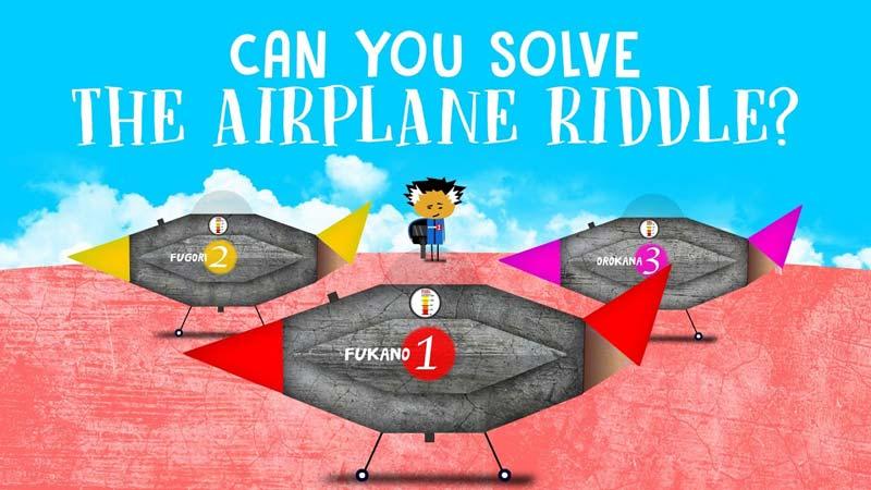 آیا میتوانید معمای هواپیما را حل کنید؟
