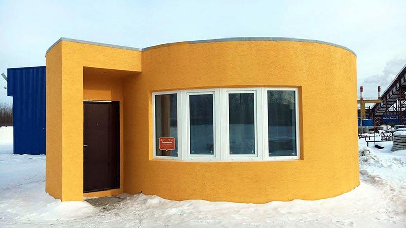 ساخت یک خانه سهبعدی فقط در ۲۴ ساعت