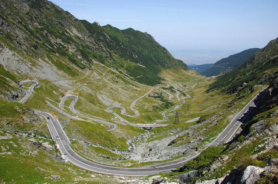 جاده ترنسفاگاراسان (Transfagarasan)، رومانی