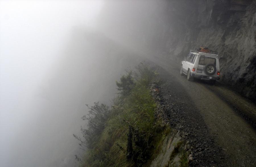 جاده یونگاس (Yungas)، بولیوی