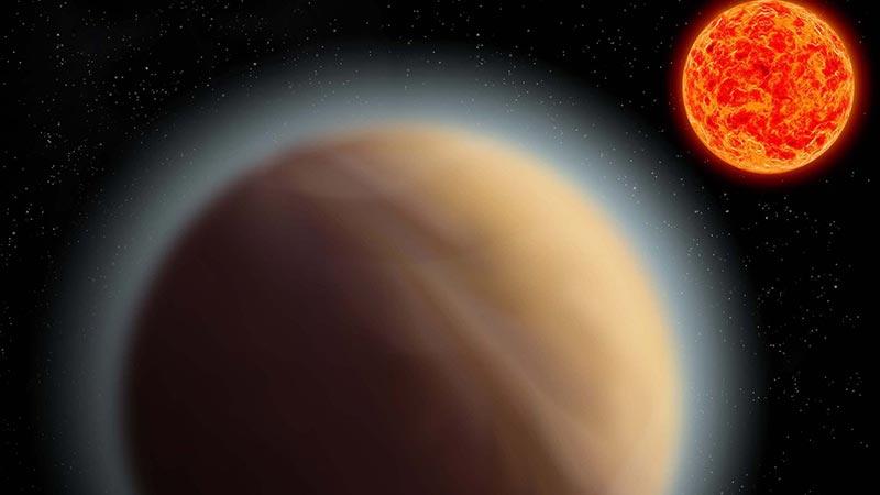 کشف جوی داغ و بخارآلود در سیارهای شبیه به زمین