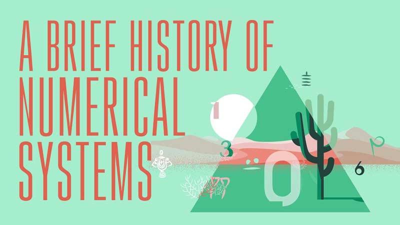 تاریخچهی مختصر نظامهای اعداد