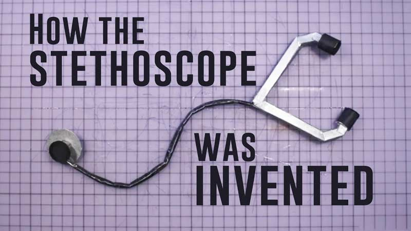 گوشی پزشکی چطور اختراع شد؟