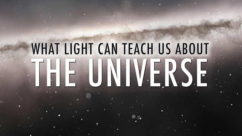 نور چه چیز را دربارهی جهان به ما میآموزد؟