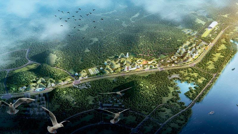 اولین شهر جنگلی دنیا در چین ساخته خواهد شد