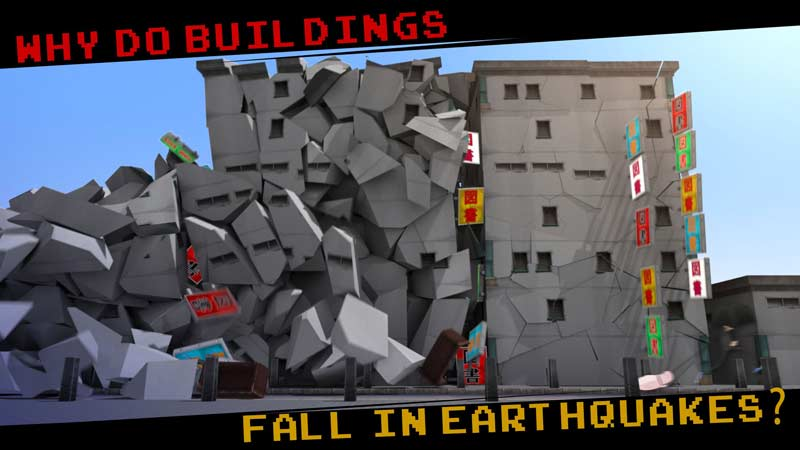 چرا در زلزله ساختمانها فرو میریزند؟