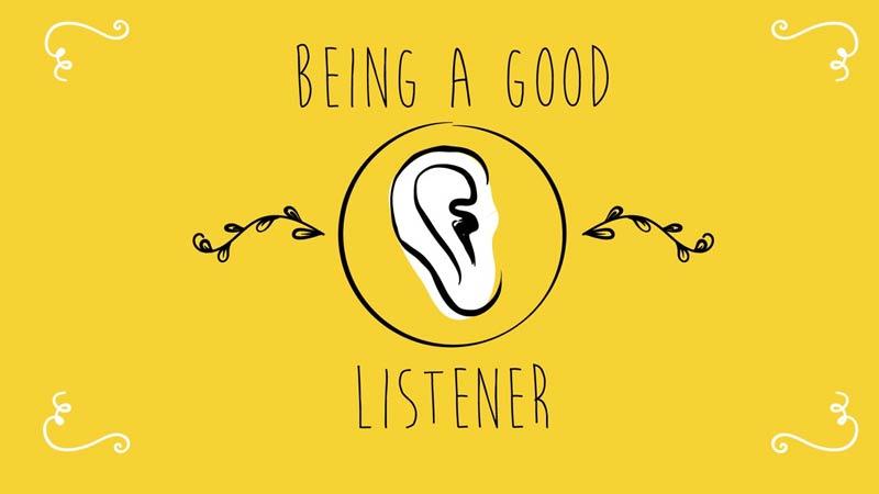 چگونه یک شنوندهی خوب بشیم؟