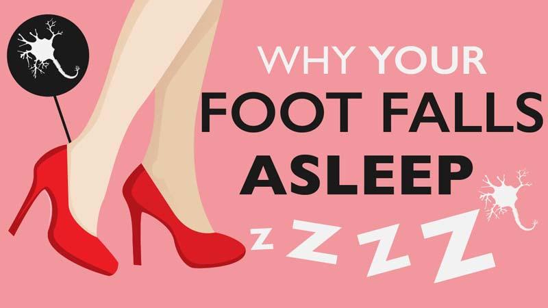چرا گاهی پاهای ما خواب میروند؟ به زبان ساده